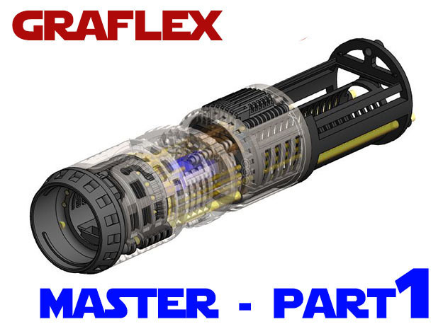 Graflex Master Chassis - Part 1/5 - Main Chassis in White Strong & Flexible