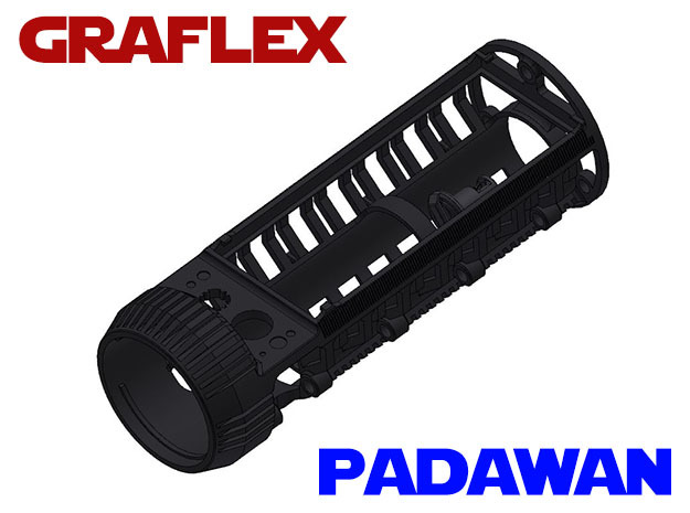 Graflex Padawan Chassis - Main chassis in White Strong & Flexible