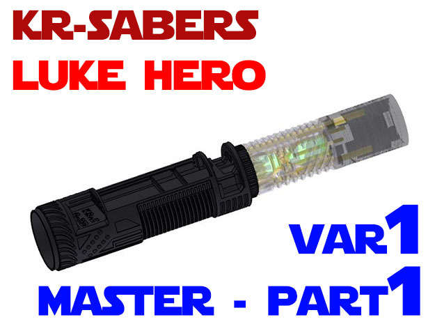 KR Luke Hero -  Master Chassis Part1 Var1 - Main in White Strong & Flexible