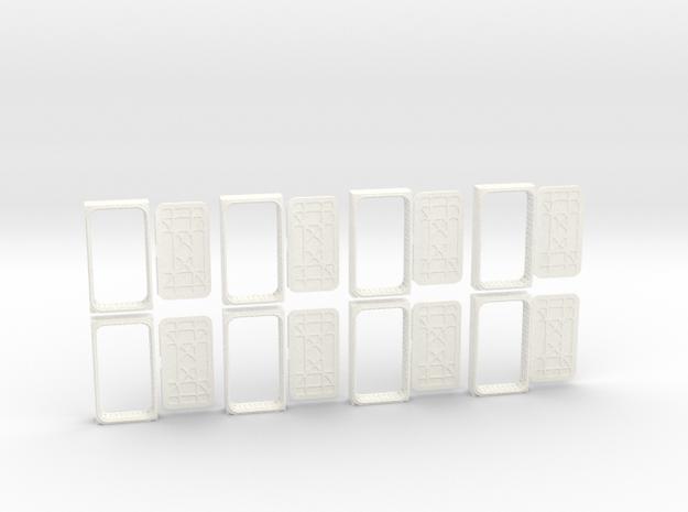 Docking Bay: Eight Doors, 1:43 in White Processed Versatile Plastic