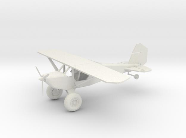 Prop Plane in White Natural Versatile Plastic