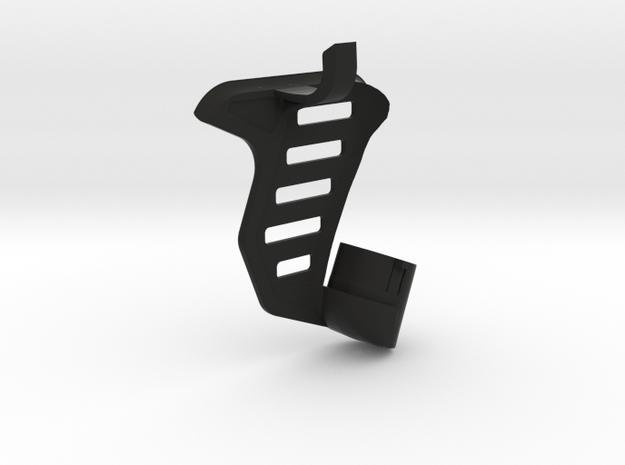 Tavor SAR Shark Fin + Brace - Right-handed in Black Natural Versatile Plastic