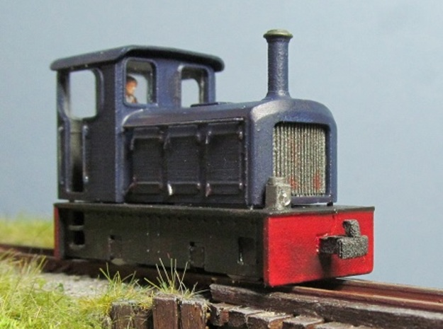 TTn3 Freelance Diesel Loco in Frosted Ultra Detail