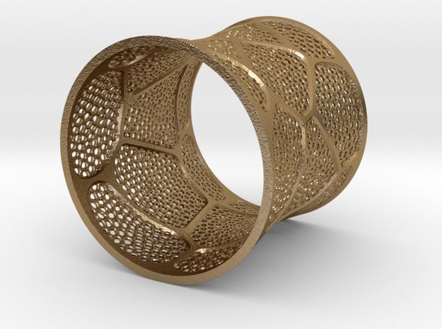 Bracelet KLM (2) in Polished Gold Steel