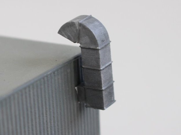 N Scale 2x Ventilation Duct
