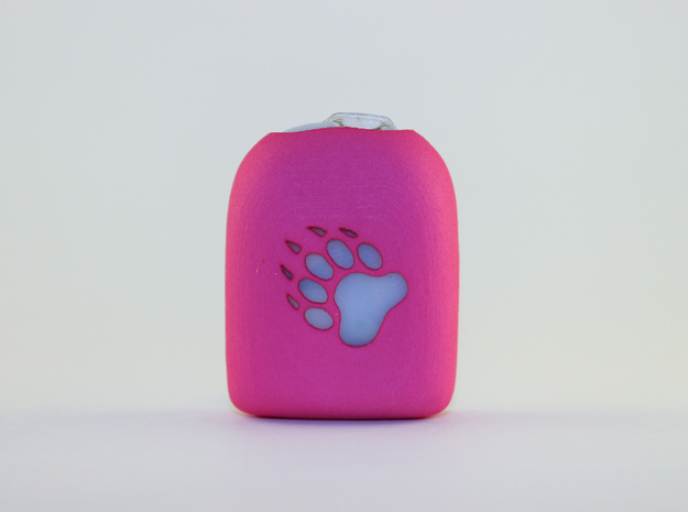 Paw - Omnipod Pod Case in Pink Processed Versatile Plastic