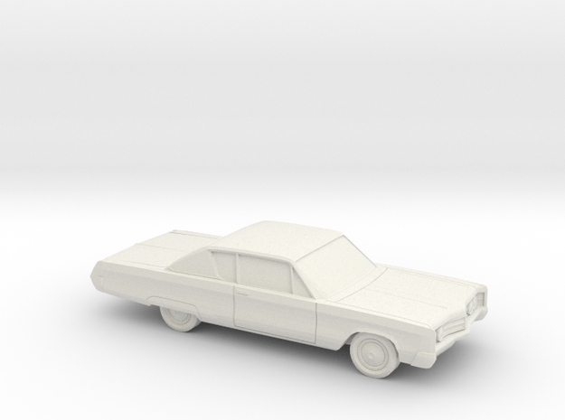 1/87 1967 Chrysler 300 Coupe in White Natural Versatile Plastic