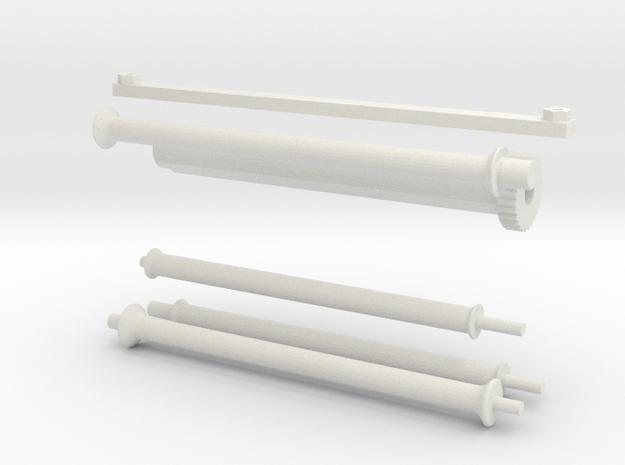 1.6 TREUIL ECUREUIL (D) in White Natural Versatile Plastic