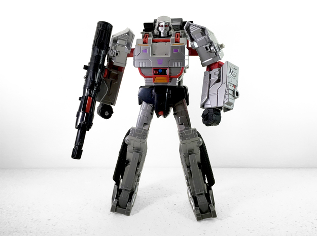 CW Leader Megatron Calves in White Strong & Flexible Polished