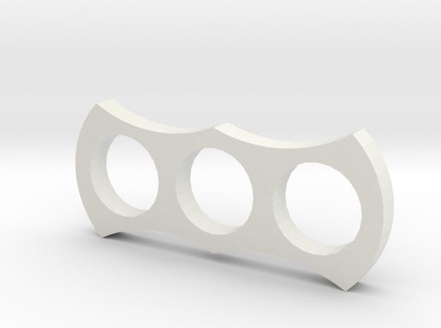 Cooll Spiner in White Natural Versatile Plastic
