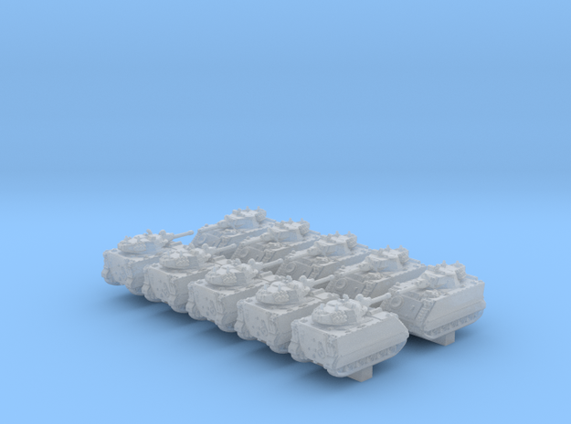 1/600 US M113 Armored Personnel Carrier x10 in Smooth Fine Detail Plastic