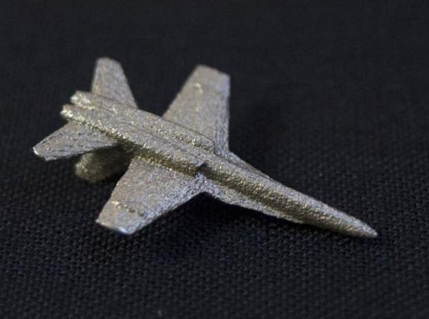 F18e Jet Aircraft - Monopoly Metal Model 3d printed SS Bottom