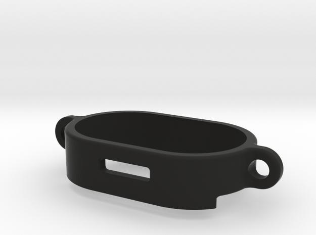 081005-02 KingCab Battery Retainer  in Black Natural Versatile Plastic
