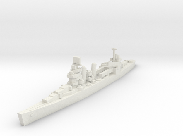 New Orleans class cruiser 1/2400 in White Strong & Flexible