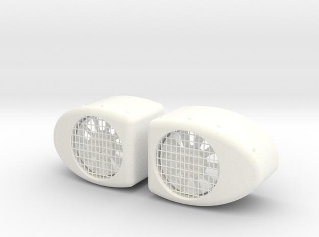 1.8 AERATEURS PUMA CIRCULAIRES in White Processed Versatile Plastic