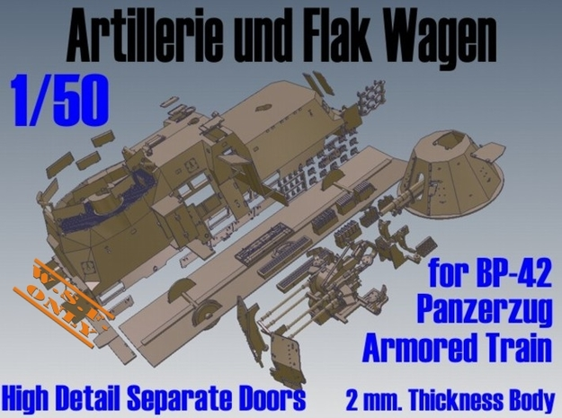 1-50 Sep-Parts A-Wagen For BP-42