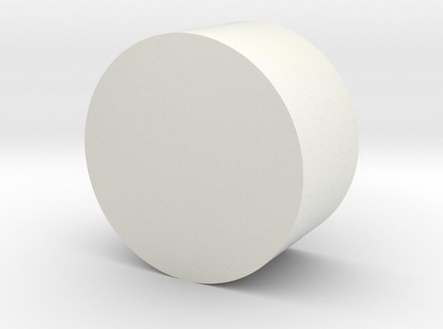 Rot Magnet Holder in White Natural Versatile Plastic