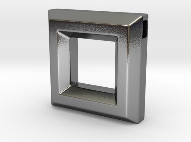 Chisel Pendant ::: Square ::: v.01