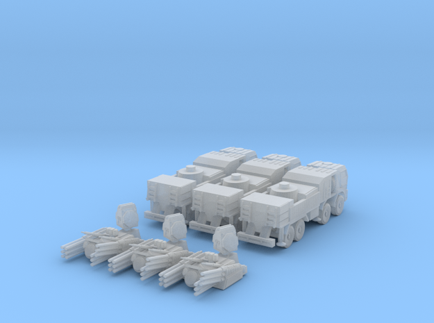 Pantsir S1 1:160 (set of 3) in Frosted Ultra Detail