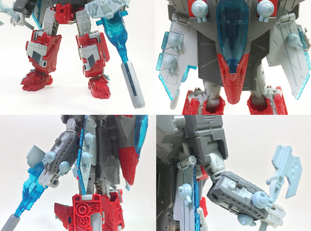 TR: Boardside/Tidalwave Extra Cannons in White Processed Versatile Plastic
