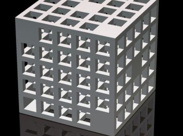 Steel Grid Die #2 (2.5 cm) in Stainless Steel