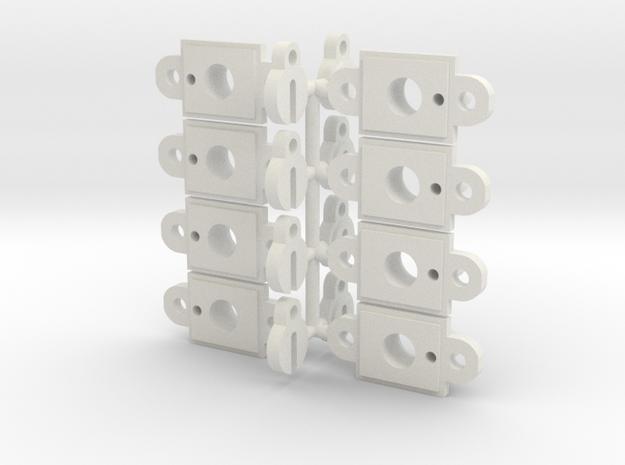 Traxxas TRX-4 Rock Light Pod Kit in White Natural Versatile Plastic