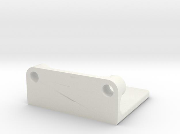 Rmp Bearing Encoder Mount 2 in White Strong & Flexible
