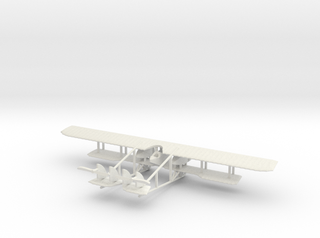 1/144 Caudron G.4 in White Strong & Flexible