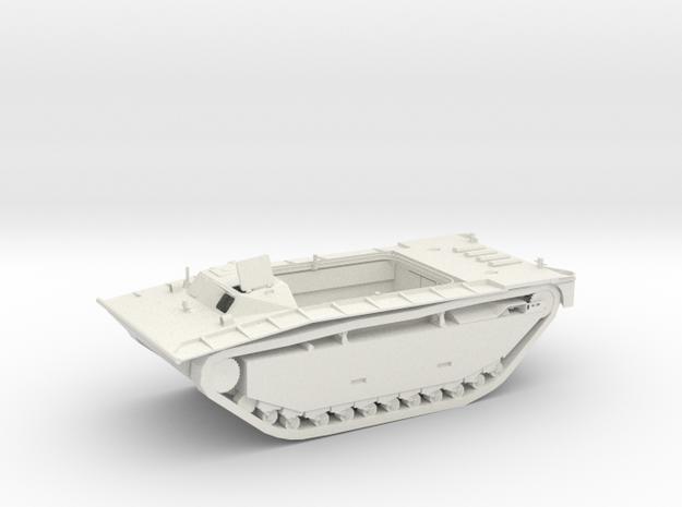 WWII US Marines Amphibious Traktors - LVT-2 1/100  in White Natural Versatile Plastic