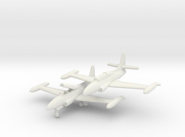 Lockheed T2V-1 Seastar 1/285 Pair 6mm in White Natural Versatile Plastic