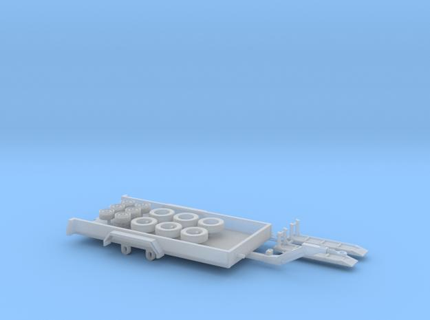 H0 1:87 Minibagger-Transportanhänger