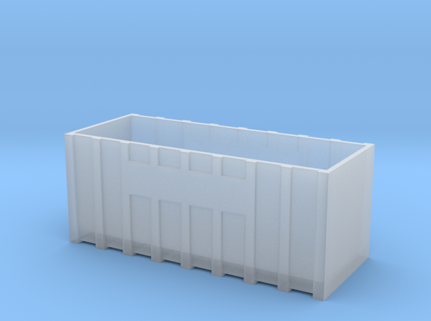 N Gauge Roll On Roll Off Skip in Smoothest Fine Detail Plastic