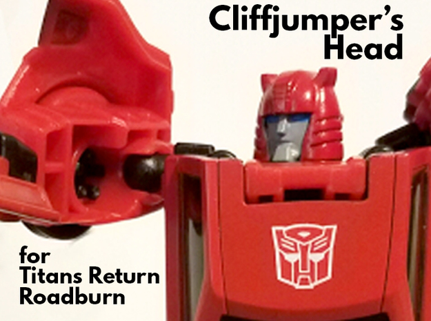 Cliffjumper Head for Titans Return Roadburn