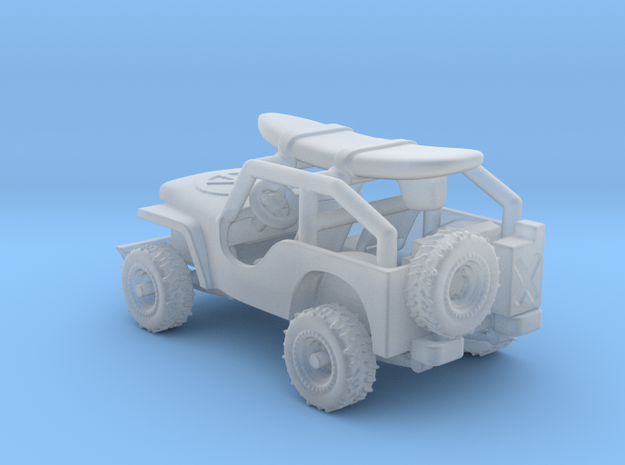 Jeep    1:120  TT in Smooth Fine Detail Plastic