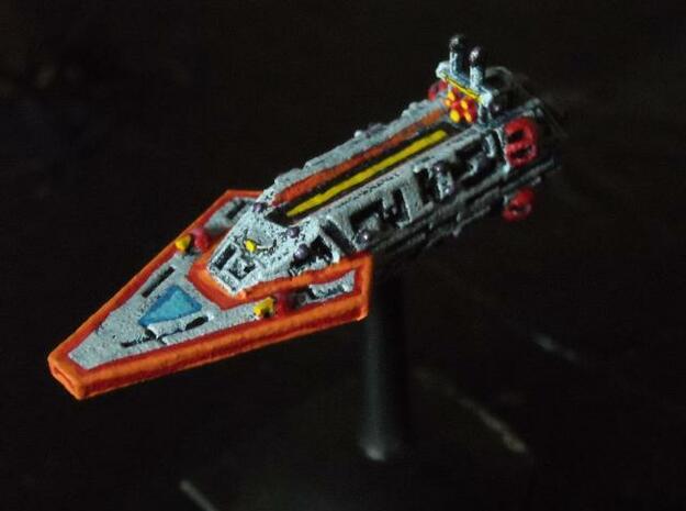VA202 Dagger Blade Strike Cruiser in White Natural Versatile Plastic