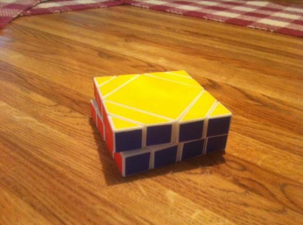 Master quartet 3d printed puzzle in solved state