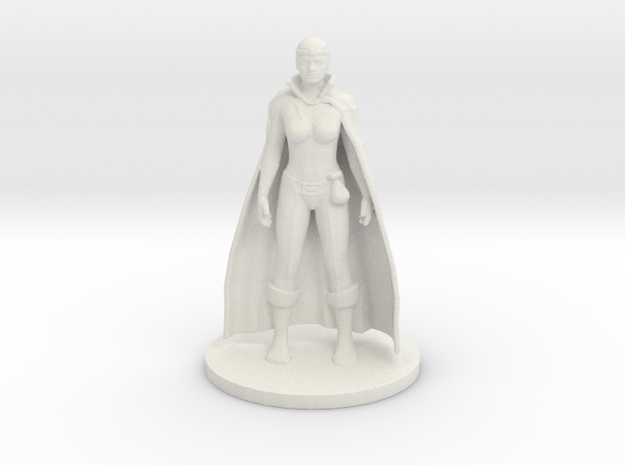 Human Wizard - Female in White Strong & Flexible