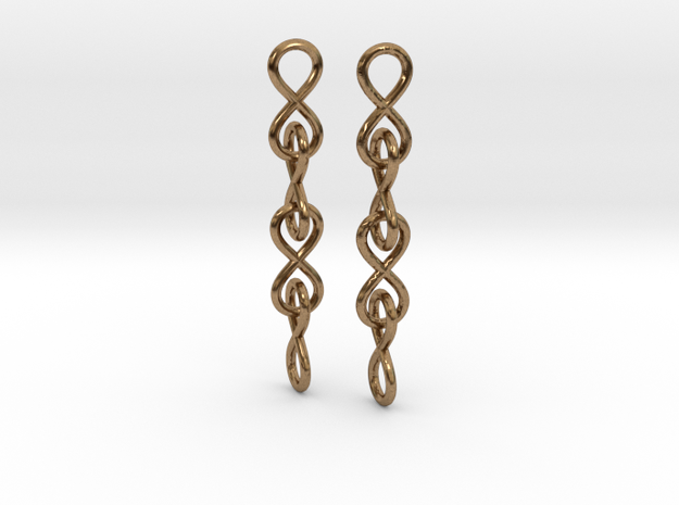 Infinity Chain Earrings
