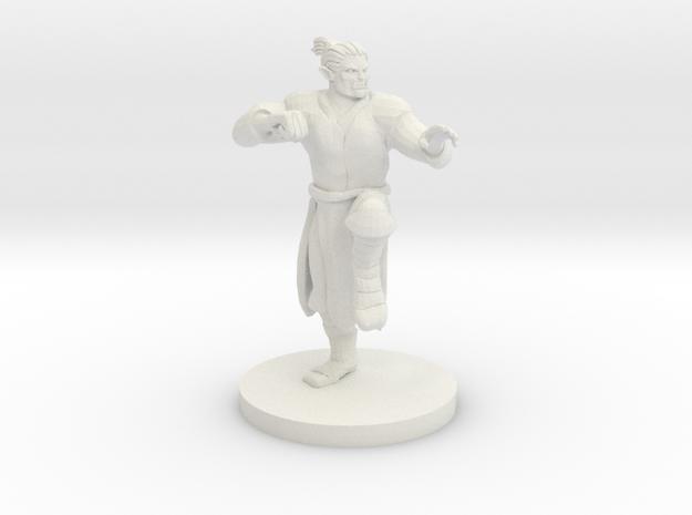 Half Orc Male Monk