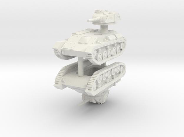 1/144 T-80 light tank (x2)