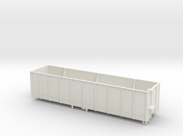 Hooper wagon for coal in White Strong & Flexible
