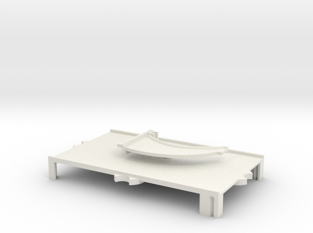 (Armada) 1x Large Stand + Peg SOLID
