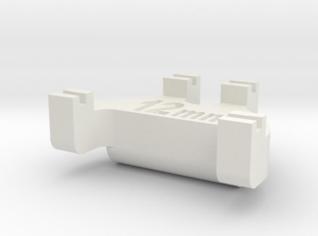 HOn3½ Track Gauge - Code 83 in White Natural Versatile Plastic