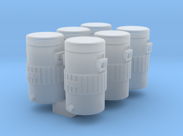 Igloo Style 1-87 HO Scale Cooler (6Pack) in Smooth Fine Detail Plastic