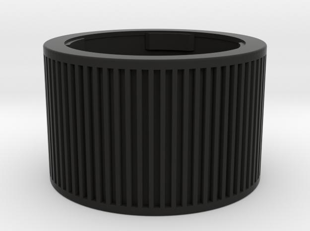 Leica M double cap in Black Strong & Flexible