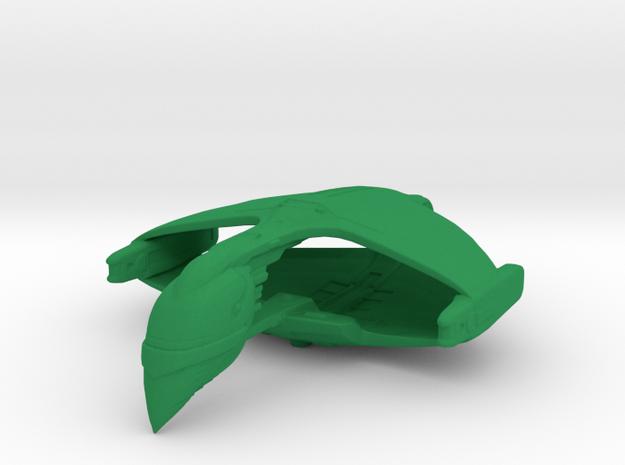 Romulan D'deridex Class 1/15000 Attack Wing in Green Processed Versatile Plastic