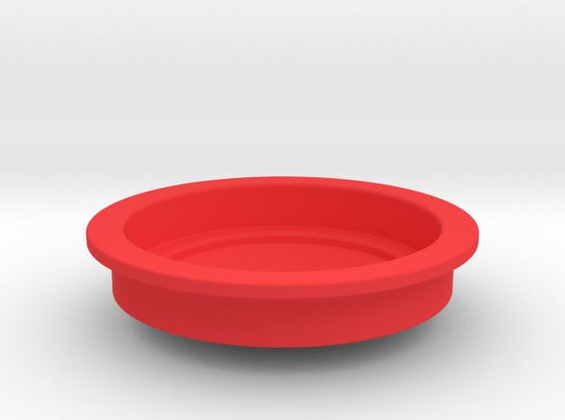 Devopress Aeropress Small Cup Adaptor in Red Processed Versatile Plastic