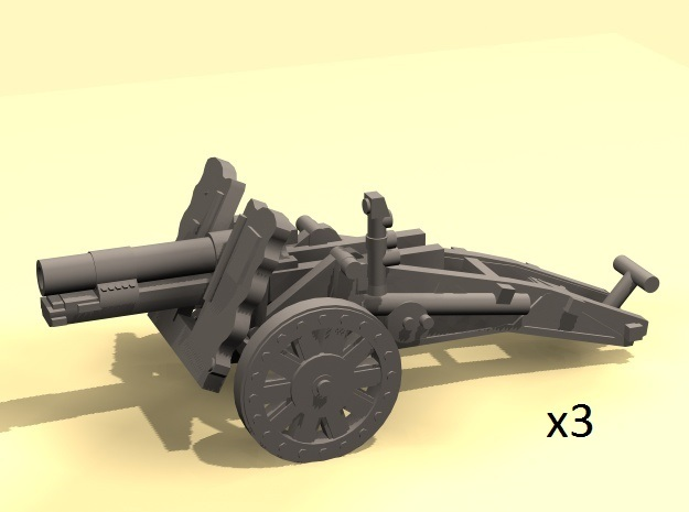 1/160 sIG33 cannon in Smooth Fine Detail Plastic