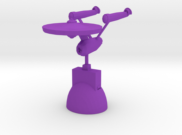 Star Trek Knight in Purple Processed Versatile Plastic
