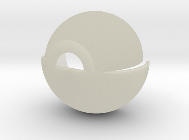 RGANTHR.STL in Transparent Acrylic